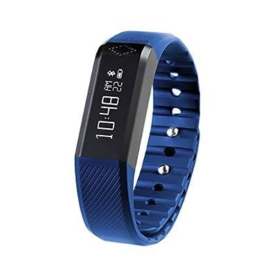 Next-shine Fitness Tracker Wireless Activity + Sleep Wristband,Blue