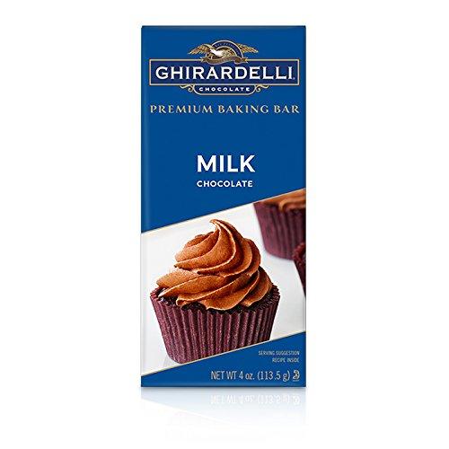 Ghirardelli Milk Chocolate Premium Baking Bar, 4 oz