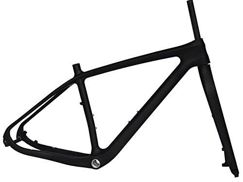 Flyxiiフルカーボン3 Kマット29インチMTBマウンテンバイク自転車フレーム15.5インチ+フォーク B01H29996C