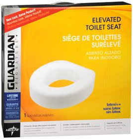 GU30250EA - Guardian Economy Raised Toilet Seat 250 lbs.
