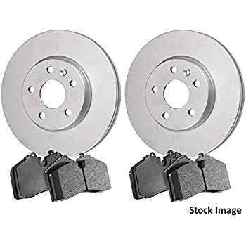 Stirling Both Left and Right 2017 For Jaguar XE Rear Set Ceramic Brake Pads with 2 Years Manufacturer Warranty