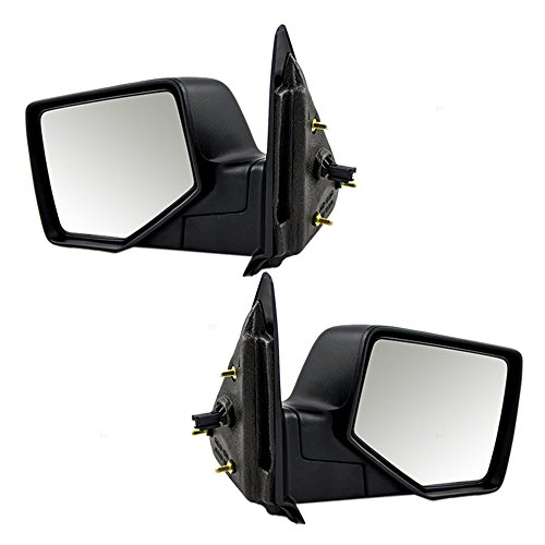 Driver and Passenger Power Side View Mirrors Replacement for Ford Pickup Truck 8L5Z17683AA 8L5Z17682AA