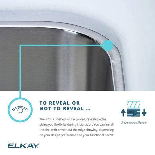 Elkay SCUH1416SH Sink .50 x 18.00 x 16.00