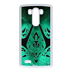 LG G3 phone cases White Assassins Creed cell phone cases Beautiful gifts YWLS0490039