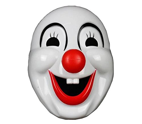 [WLC Light Up Clown Mask For Halloween Masquerade Cosply Party] (Fancy Dress Contact Lenses)