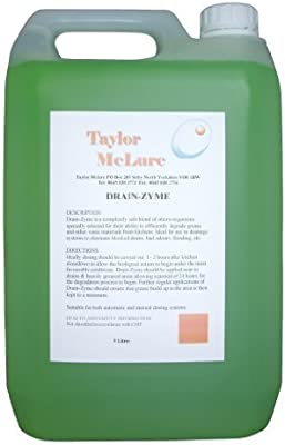 Drenaje ZYME (enzima destapacañerías): Amazon.es: Hogar