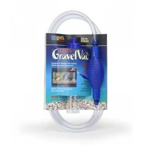 Lee 's Squeeze bombilla Ultra grava Vac Lee's Aquarium & Pet Products 11544