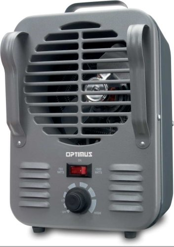 Optimus H 3011 Portable Utility Heater With Thermostat