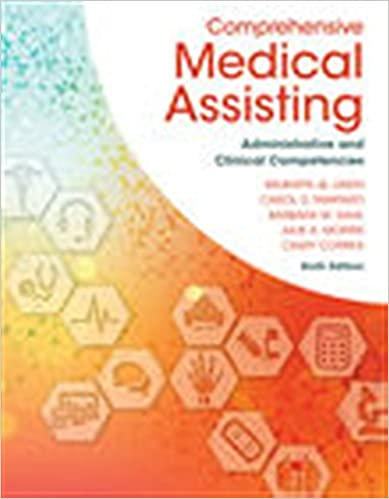 Comprehensive medical assisting administrative and clinical comprehensive medical assisting administrative and clinical competencies mindtap course list 6th edition fandeluxe Gallery