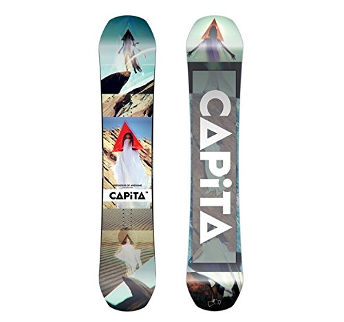 Capita - Mens Defenders of Awesome Snowboard 2018, 158