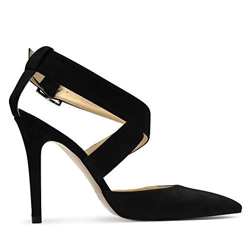 Alina Escarpins Femme Noir Shoes Evita Daim 4wnUBz5q