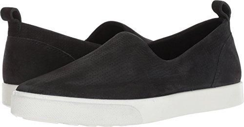 ECCO Women's Women's Gillian Casual Slip on Sneaker, Black, 39 M EU (8-8.5 US) -