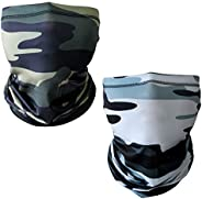 UV Protection Neck Gaiter Face Cover, Magic Scarf Sun Proof Headband Cooling Face Cover for Men and Women