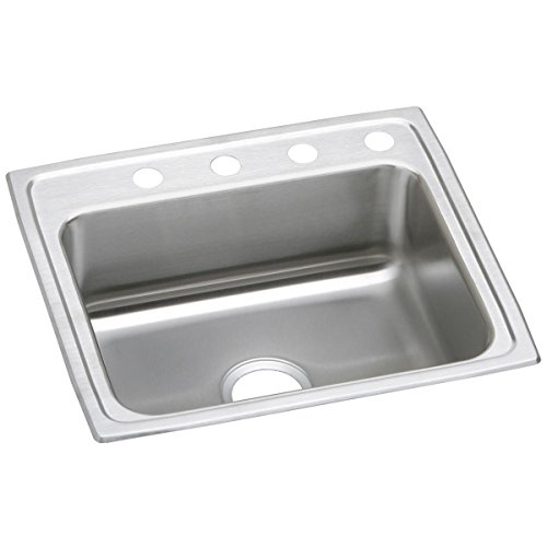 Elkay Celebrity PSR25213 Single Bowl Top Mount Stainless Steel Sink ()