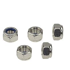 304 Stainless Steel Hex Nut Nylock Lockn...