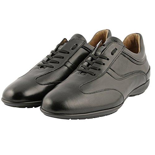 Zack exclusivo Paris Richelieus, zapatos de hombre para hombre Negro - negro