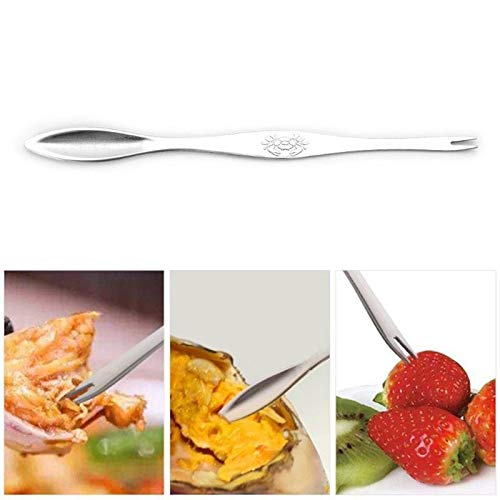 STORE-HOMER - 1PCS Stainless Steel Seafood Tool Claws To Eat Crab Fork Lobster Pin Stripping Fruit Fork Shellfish Picks Needle Crab -