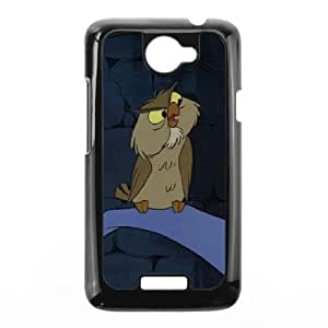 HTC One X Cell Phone Case Black The Sword in the Stone Character Archimedes P6686381