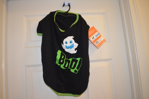 Dogs Boo Halloween Ghost T-shirt Costume NWT Size Large]()
