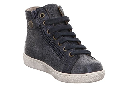 Bisgaard Unisex-Kinder Schnürschuhe Hohe Sneaker 611 Blue