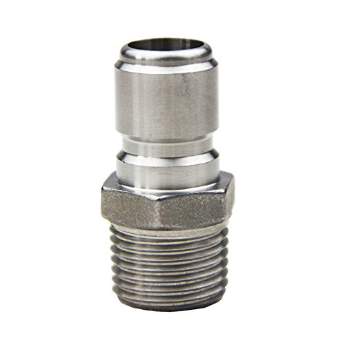 304 Stainless Steel Quick Disconnect Set Home Brew Fitting Connector Homebrewing (QD Female 1/2 FPT) UP100