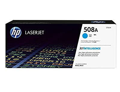 HP 508A (CF361A) Cyan Original LaserJet Toner Cartridge