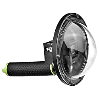 SHOOT Underwater Dome Port Housing for GoPro Hero 4/Hero 3+ Black Camera Diving Transparent Lens 6'' Dome Photography with Waterproof Case Accessories
