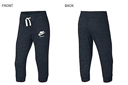 Nike Big Girls Sportswear Gym Vintage Knit Capri Sweatpants