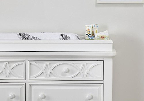 Baby Cache Haven Hill Changing Topper - White Lace
