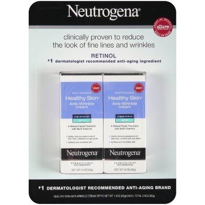 Neutrogena Healthy Skin Crème anti-rides 2 count 1,4 oz chacun - Total 2,8 oz