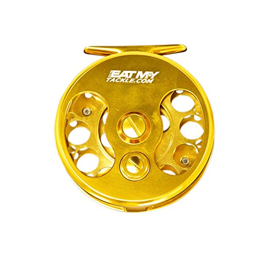 EAT MY TACKLE 7/8 Large Arbor Saltwater Fly Fishing Reel (Best Fly Reel For Redfish)