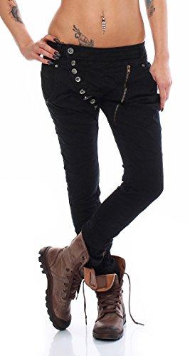 Skutari Jeans Nero Donna Skutari Jeans Boyfriend RPqzFRw