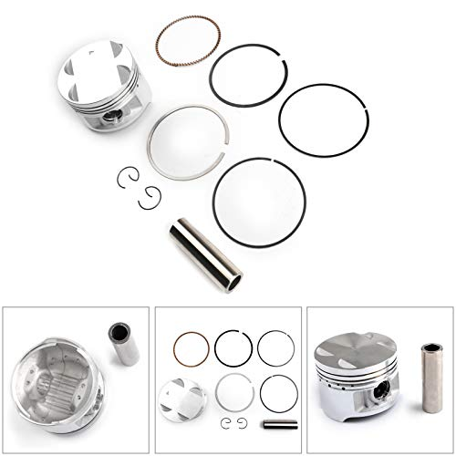 Artudatech Piston Ring Kit For Suzuki DR250 1982-1987 GN250 1985-2001 STD Bore Size 72.00mm
