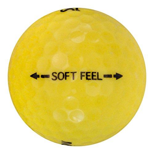 Srixon 48 Soft Feelイエロー – 値( AAA )グレード – リサイクル( used )ゴルフボール   B073RYMPDM