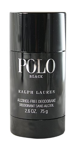 Price comparison product image Polo Black by Ralph Lauren for Men, Alcohol-Free Deodorant, 2.6 Ounce