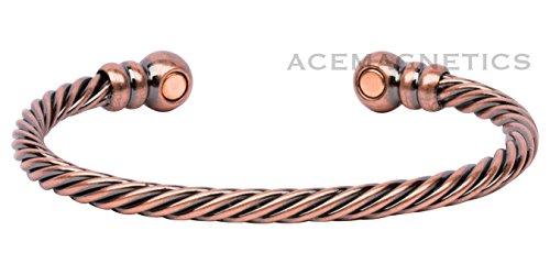 Copper Antique Style Magnetic Bracelet