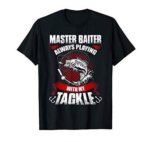 Master baiter fishing t-shirt-funny idea gift for fishermen