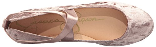 Simpson Mandayss Flat Women's Ballet Jessica Mauve Cashmere Hq4PpAxPw
