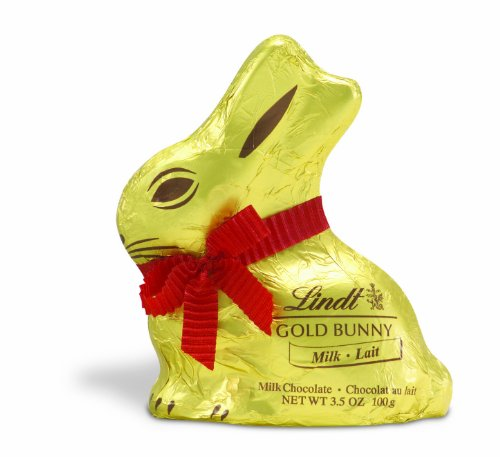 Lindt Milk Chocolate GOLD BUNNY, 3.5 Ounce