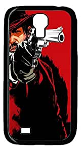 Red Dead Redemption Protective Hard PC Snap On Case for Samsung Galaxy S4 I9500-1122014