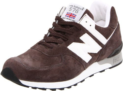 New Balance M576KHA Brown with White Brown with White