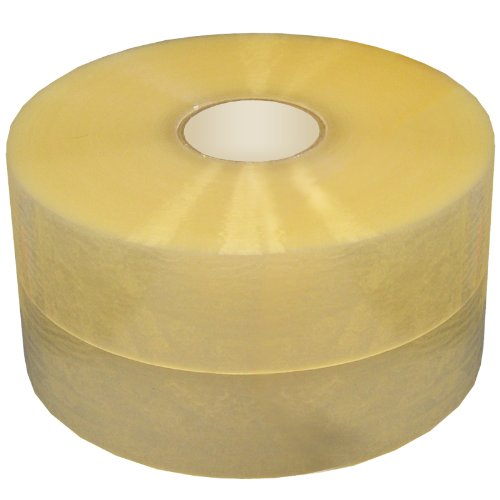 GlueNTape 2220 TAC Acrylic General Purpose Packaging Tape Roll, 2 mil Thick, 1000 yards Length x 2