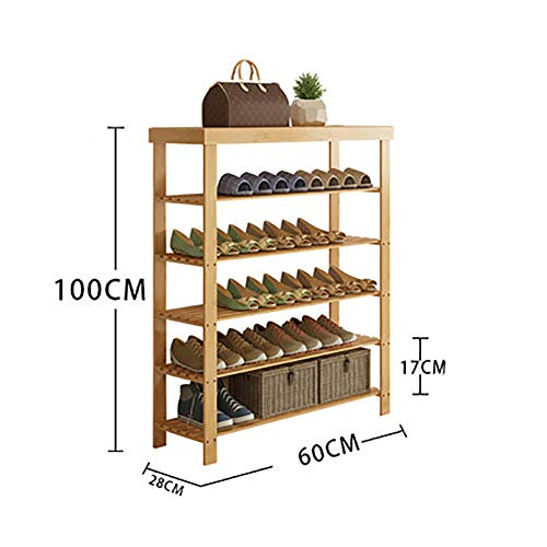WANGS Bamboo Shoe Rack Stand high, Versatile Storage for sale  Delivered anywhere in USA