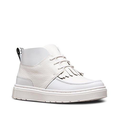 Dr. Martens Women's Jemima Chukka Soft Fashion Boots, White, Leather, 4 M UK, 6 M -