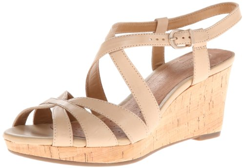 Clarks Kvinners Palm Rema Kile Sandal Beige