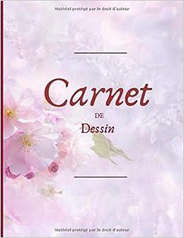Carnet De Dessin Un Grand Carnet De Dessin 100 Pages Couverture Fleur De Cerisier Du Japon 21 X 28 Cm French Edition Edition Else 9798607508678 Amazon Com Books