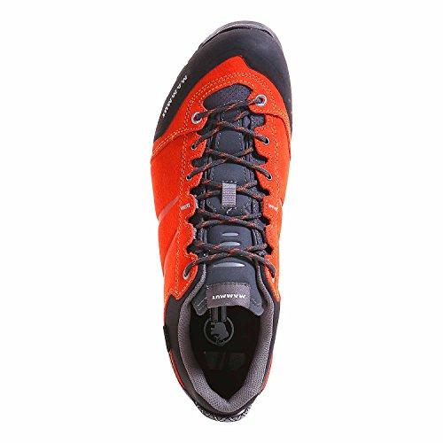 Mammut WALL GUIDE LOW GTX ® Trekking zapatos hombres dark orange-neutral grey