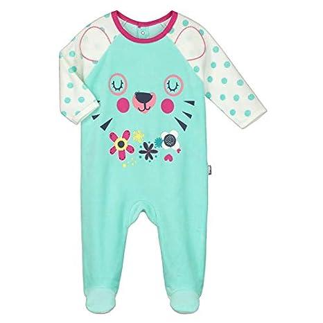 56f13672b0002 Pyjama bébé velours Little Cute - Taille - 9 mois (74 cm)  Amazon.fr ...