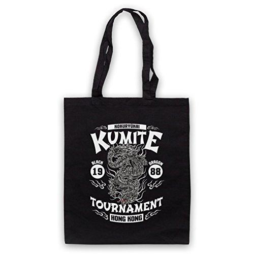 Bloodsport Kumite 1988 Black Dragon Tournament Bolso Negro