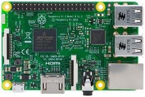 Raspberry Pi 3 Model B Quad Core CPU 1 2 GHz 1 GB RAM Motherboard